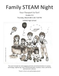 Family STEAM Night @ Enfield High School