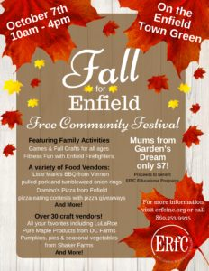 """Fall for Enfield"" @ Enfield Town Green"