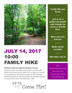 Family Hike and Picnic @ Scantic River