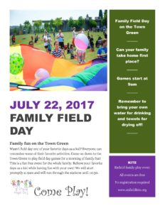 Family Field Day @ Enfield Town Green