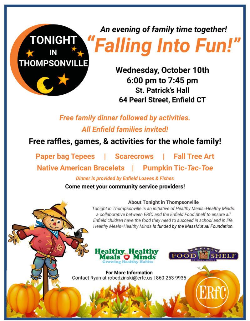 Tonight in Thompsonville - Falling Into Fun! @ St Patricks Hall