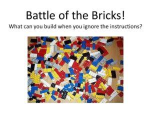 Battle of the Bricks @ the Farmer's Market @ Enfield Farmer's Market