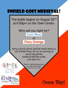Enfield Goes Medieval @ Enfield Town Green