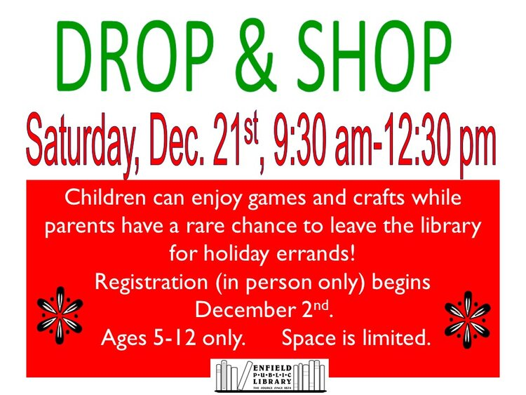 Enfield Public Library-Drop & Shop @ Enfield Public Library