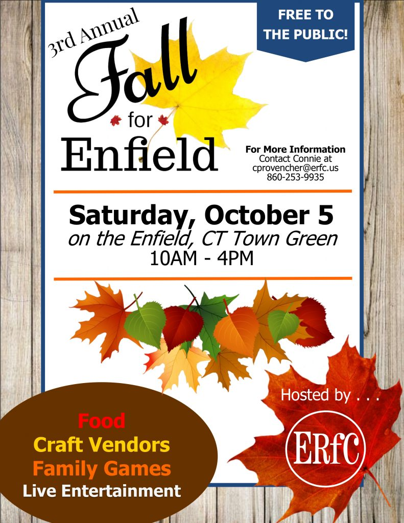3rd Annual ERfC Fall for Enfield @ Enfield Town Green