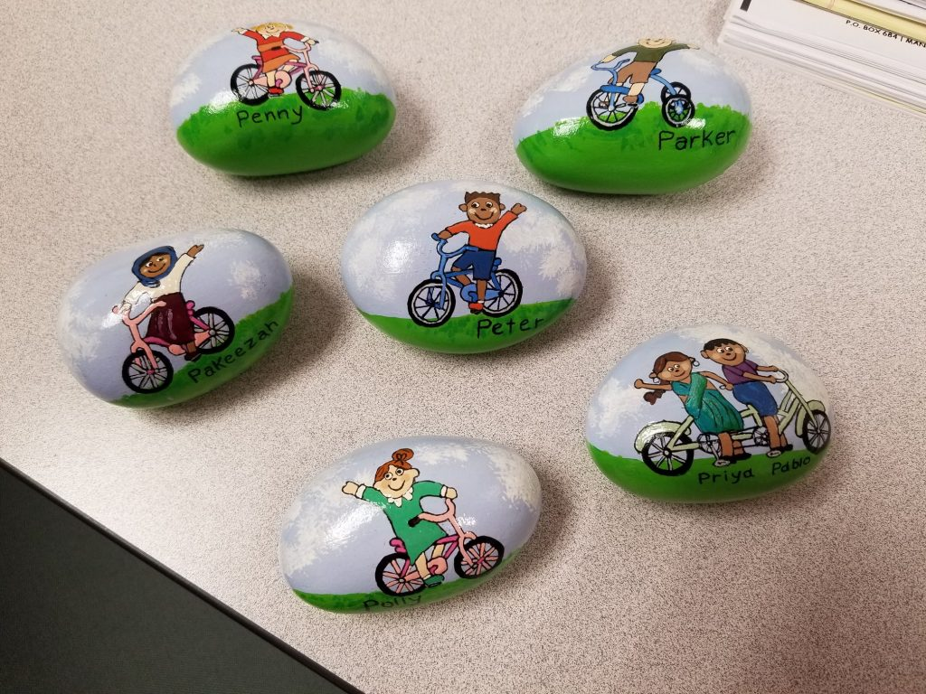 EPO Family  Rock Painting @ Stowe Early Learning Center