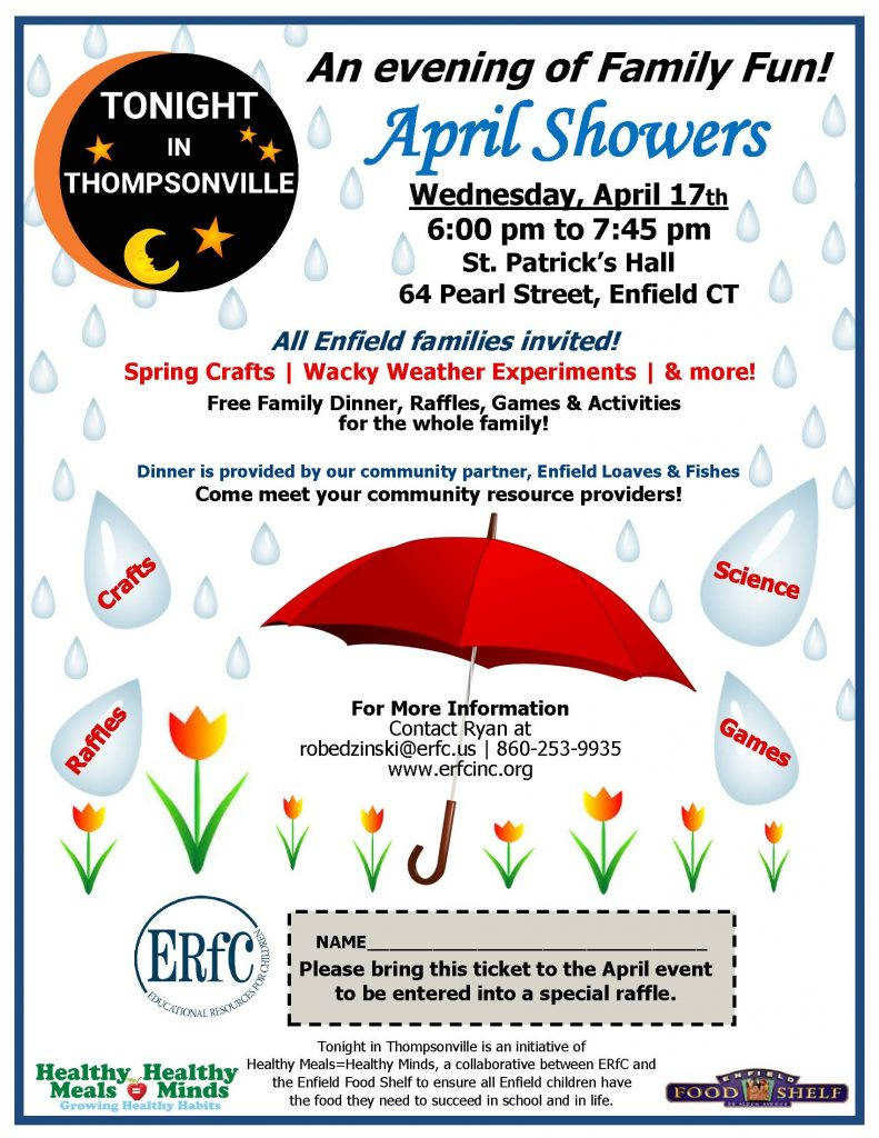 Tonight In Thompsonville - Spring Showers @ St. Patricks Hall