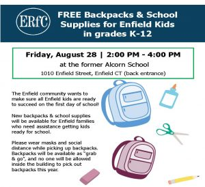 ERfC's Free Backpack Day for Kids! @ Alcorn Administration Building