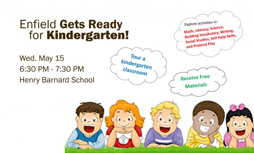 Enfield Gets Ready for Kindergarten @ Henry Barnard Elementary