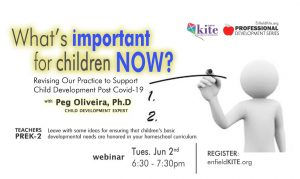 KITE PD: What's most important for children, now? Defining priorities in an overwhelming world @ online