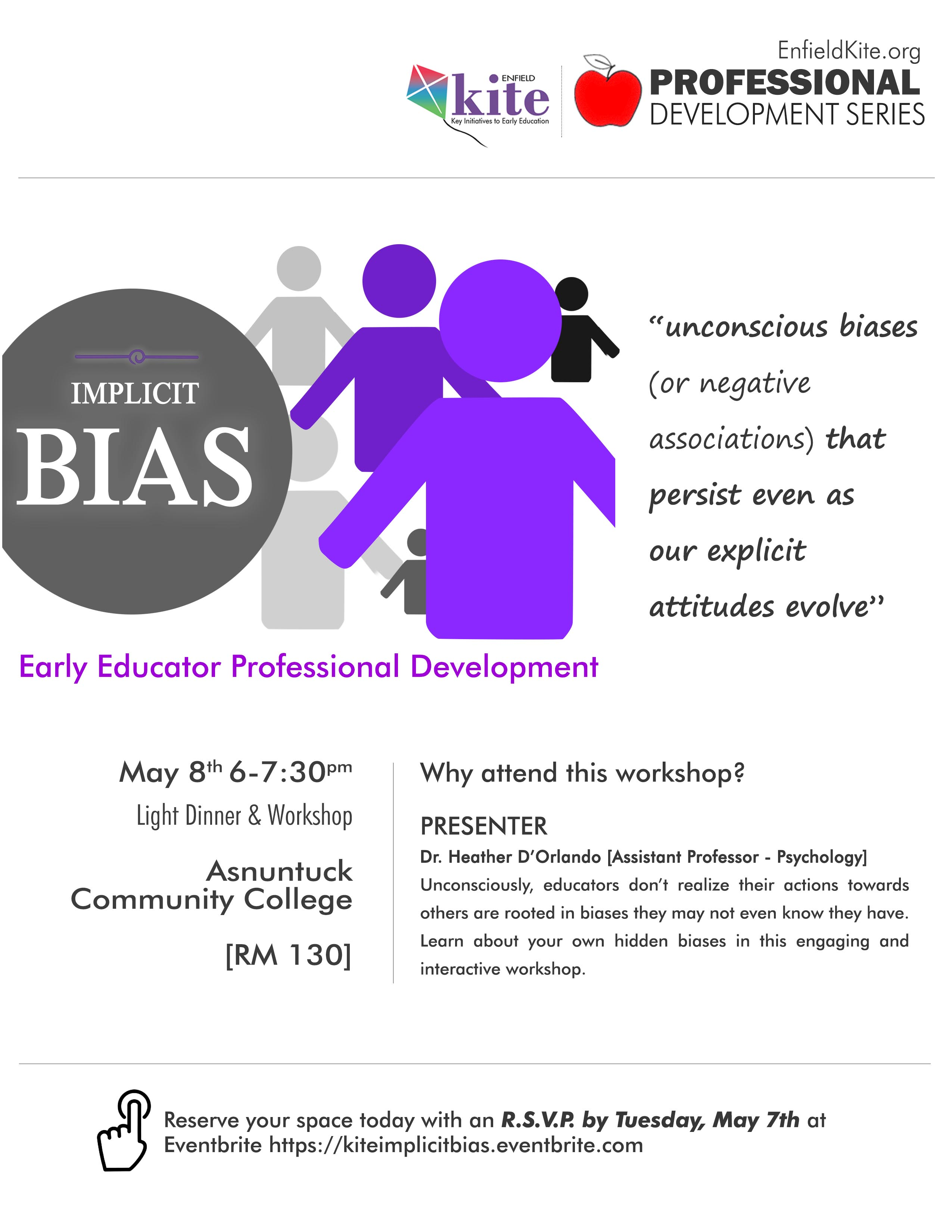 Professional Development : Implicit Bias @ Asnuntuck Community College