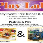 Pastries & Play in the Play Lab at Stowe @ Play Lab at Stowe