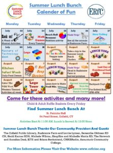 Summer Lunch Bunch @ St. Patrick's Hall