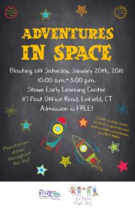Adventures In Space @ Stowe Early Learning Center Gym