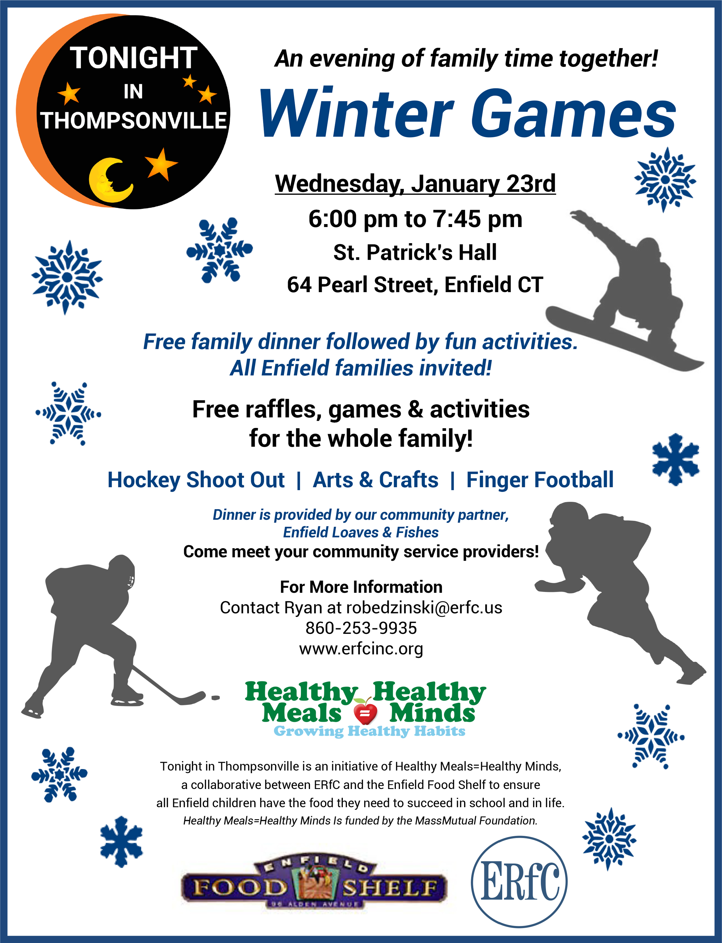 Tonight In Thompsonville - Winter Games @ St. Patricks Hall