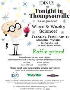 Tonight in Thompsonville - Wierd and Wacky Science @ St. Patrick's Hall