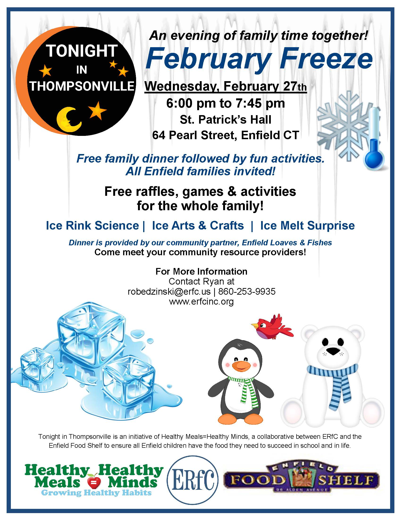 Tonight In Thompsonville - February Freeze @ St. Patricks Hall