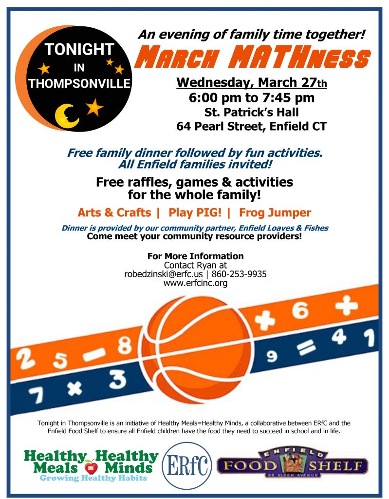 Tonight In Thompsonville - March Mathness @ St. Patricks Hall